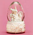 Easter Snowbunnies Rock-A-Bye Bunny 26285