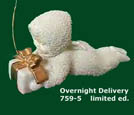 Snowbabies Overnight Delivery 7595